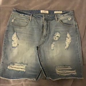 Jessica Simpson high waist skirt